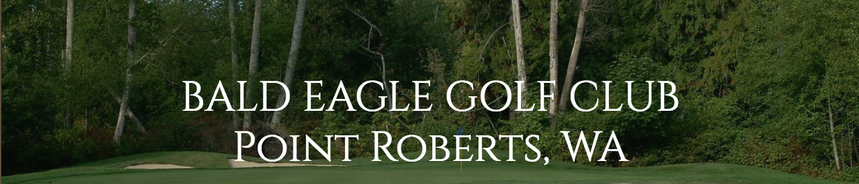 Bald Eagle Golf Course banner